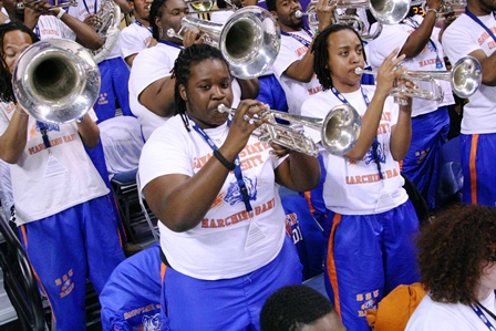 Savannah State Tigers pep band