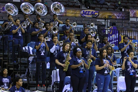 Hampton University pep band