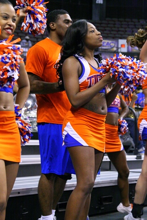 Savannah State University Tigers Cheerleaders