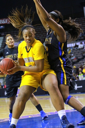 North Carolina A&T Lady Aggies get stop by Coppin...