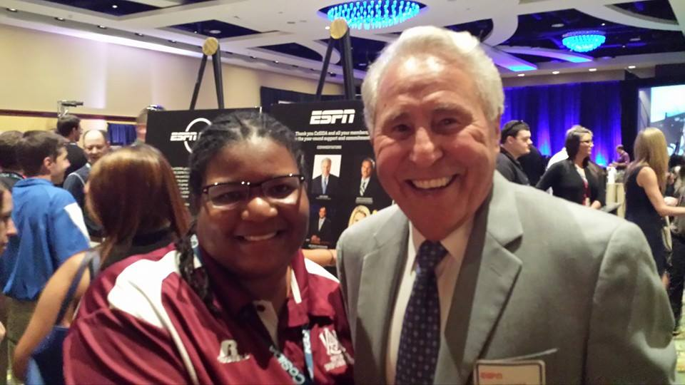 Ms. O of AA&MU & Lee Corso of ESPN