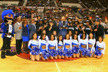 Hampton University Lady Pirates are the 2014 Wome...