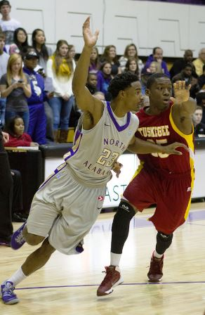 Tuskegee Golden Tigers advance over North Alabama...
