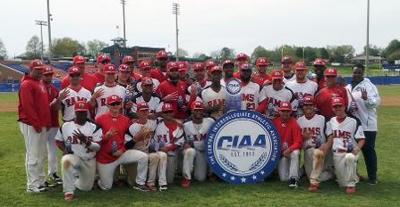 Winston-Salem State University are 2014 CIAA Base...