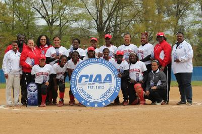 Winston-Salem State University are 2014 CIAA Soft...