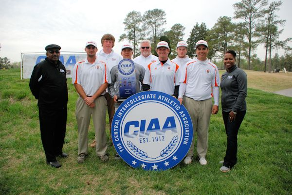 Virginia State University wins the 2014 CIAA Golf...