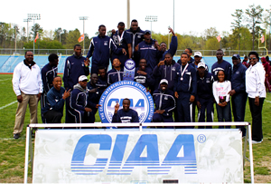 Saint Augustine's University 2014 CIAA Men&#...
