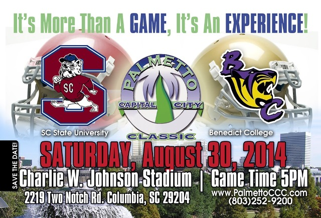 The 2014 Palmetto Capital City Classic football g...