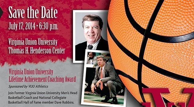 Virginia Union University honors Dave Robbins
