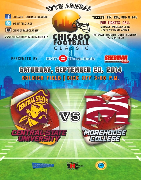 The 17th Annual Chicago Football Classic Central ...