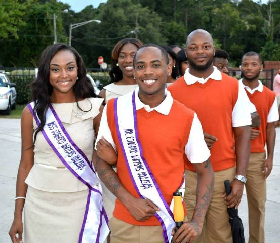 Mr and Miss Edward Waters College and Court 2014