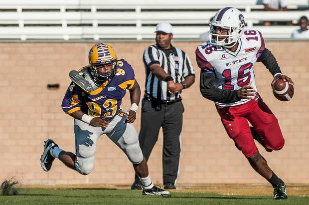 South Carolina State Bulldogs roll past Benedict ...