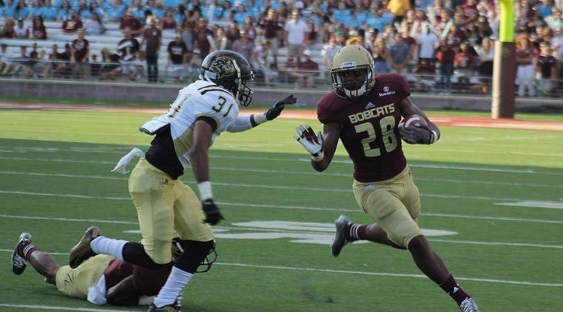 Arkansas-Pine Bluff is dominated by Texas State B...