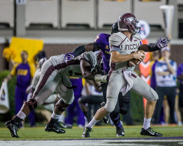 North Carolina Central Eagles got off to an impre...