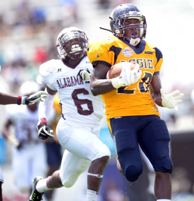 North Carolina A&T rolls to win over Alabama A&M ...