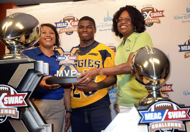 Cohen McRae was named MVP-MEAC/SWAC Challenge