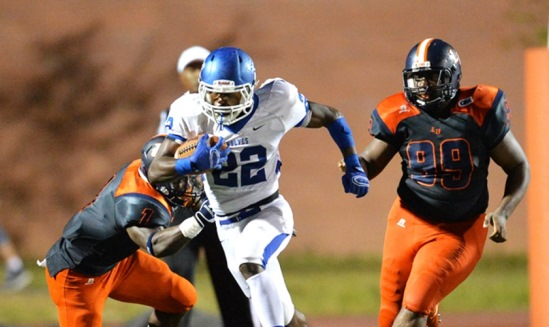 Lincoln Lions beat Cheyney Wolves in Battle of th...