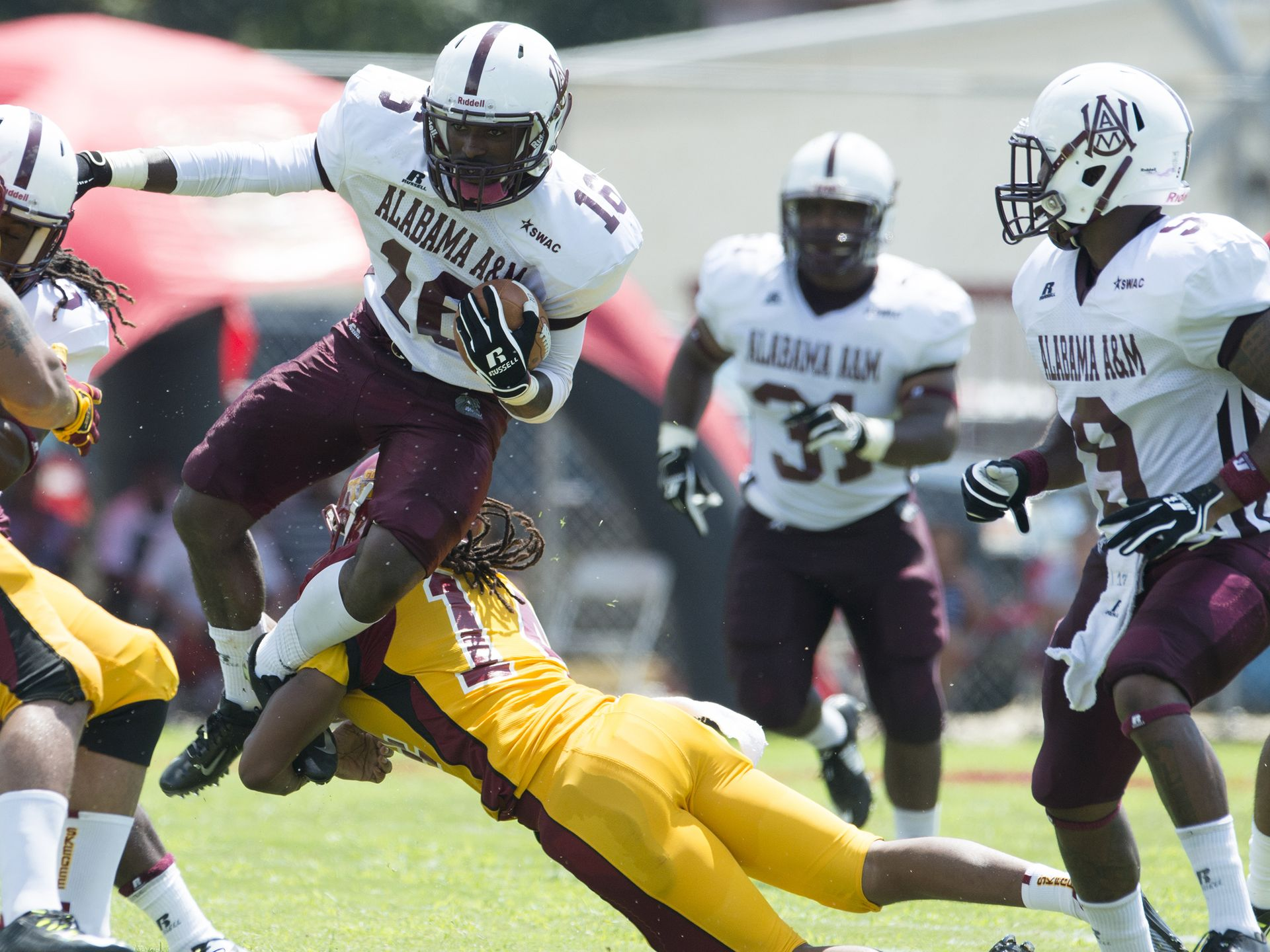 Alabama A&M Bulldogs beat Tuskegee Golden Tigers ...