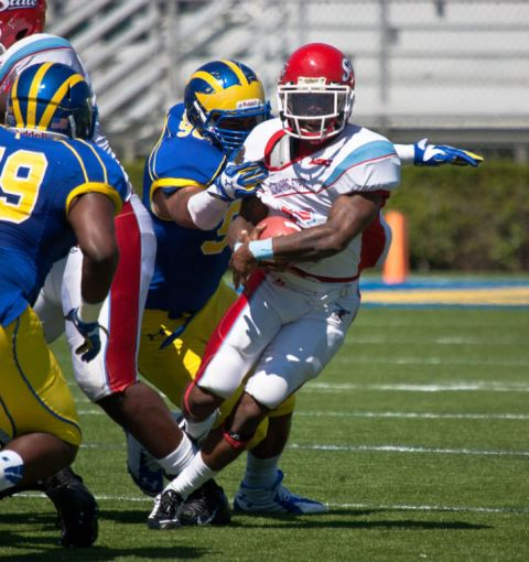 Delaware State Hornets frustrated by Hens of Dela...