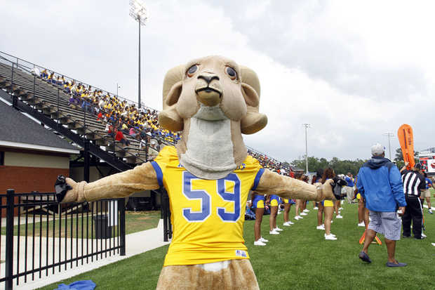 Albany State Golden Rams mascot