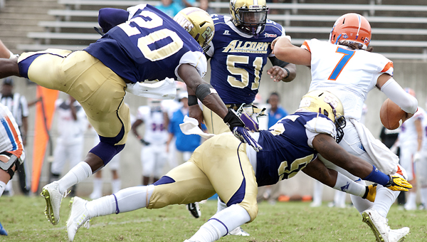 Alcorn State Braves rout the Wildcats of Louisian...