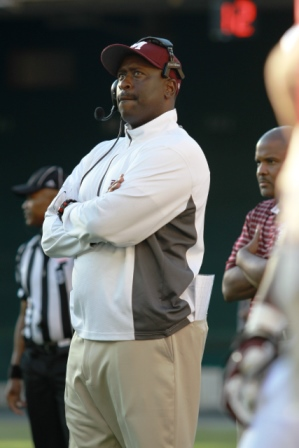 Morehouse College head football coach at the Nati...