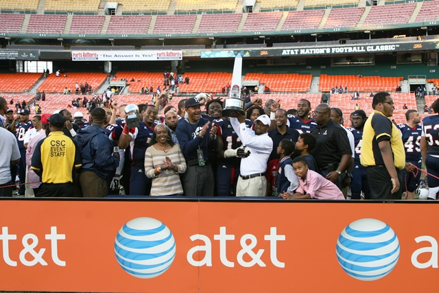 Howard University claims the A&T Nations Football...