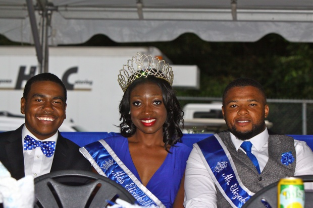 Ms. and Mr. Elizabeth City State University at th...