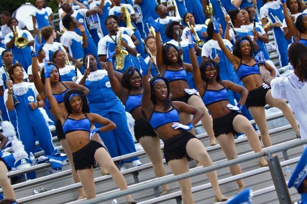 Elizabeth City State University marching band