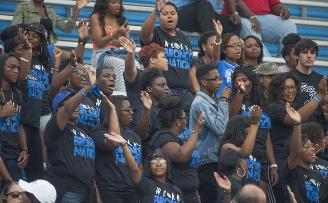 Fayetteville State University students enjoying t...