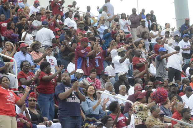 South Carolina State University Bulldog fans
