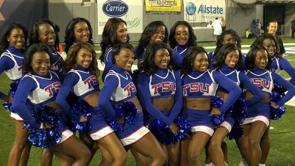 Tennessee State University cheerleaders