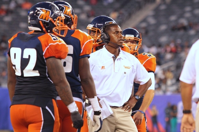 Morgan State head coach Lee Hull got is first MEA...