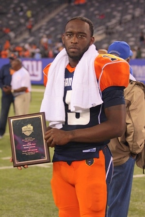 Morgan State guarterback is the MVP of 42nd NYUL ...