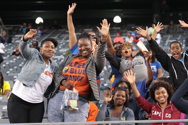Morgan State Bears fans at the 42nd NYUL Classic