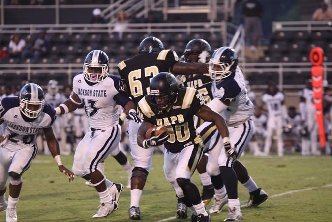 Jackson State Tigers edges Arkansas-Pine Bluff Go...