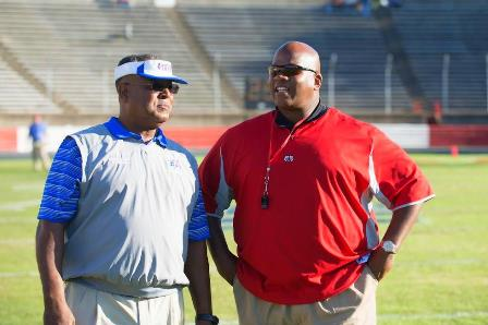Elizabeth City State University head coach and Wi...