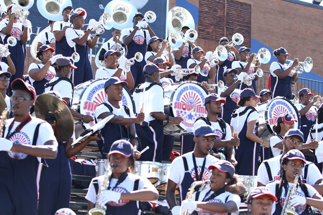 Howard University Showtime Marching Band playing ...