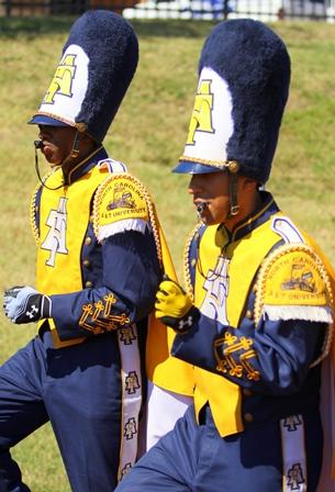 North Carolina A&T drum majors