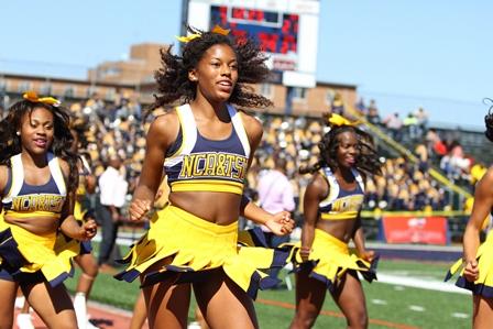 North Carolina A&T Aggie cheerleaders