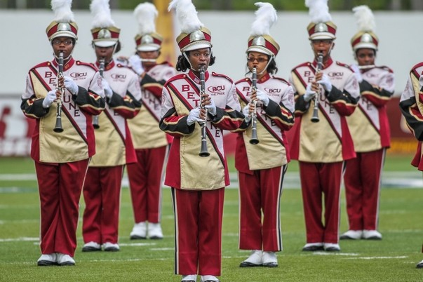 Bethune-Cookman marching Wildcats band