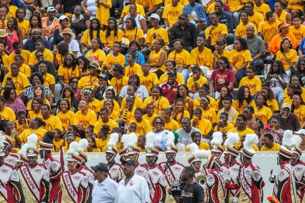 Bethune-Cookman Wildcat fans are ready for halfti...