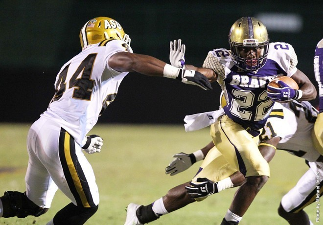 Alcorn State stomps Alabama State Hornets on Nati...