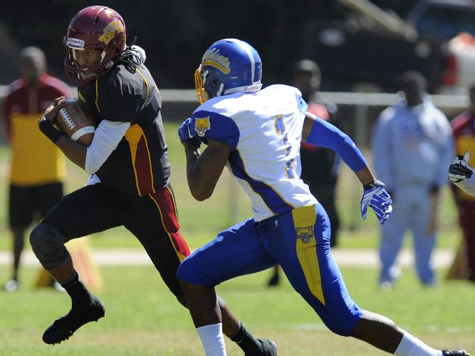 Tuskegee Golden Tigers defeat the Wildcats of For...