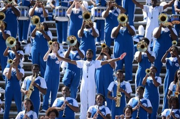 Elizabeth City State Sound of Class plays in the ...