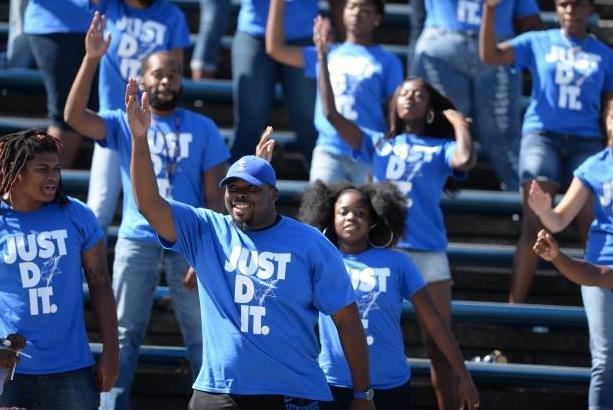 Elizabeth City State University fans