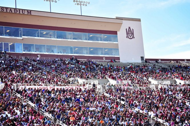 Alabama A&M fans enjoying homecoming 2014