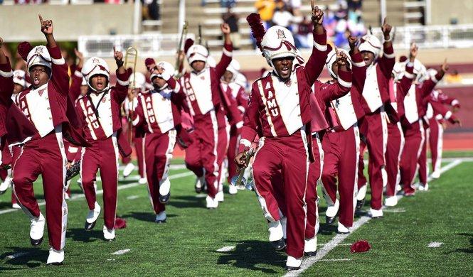 Alabama A&M marching band