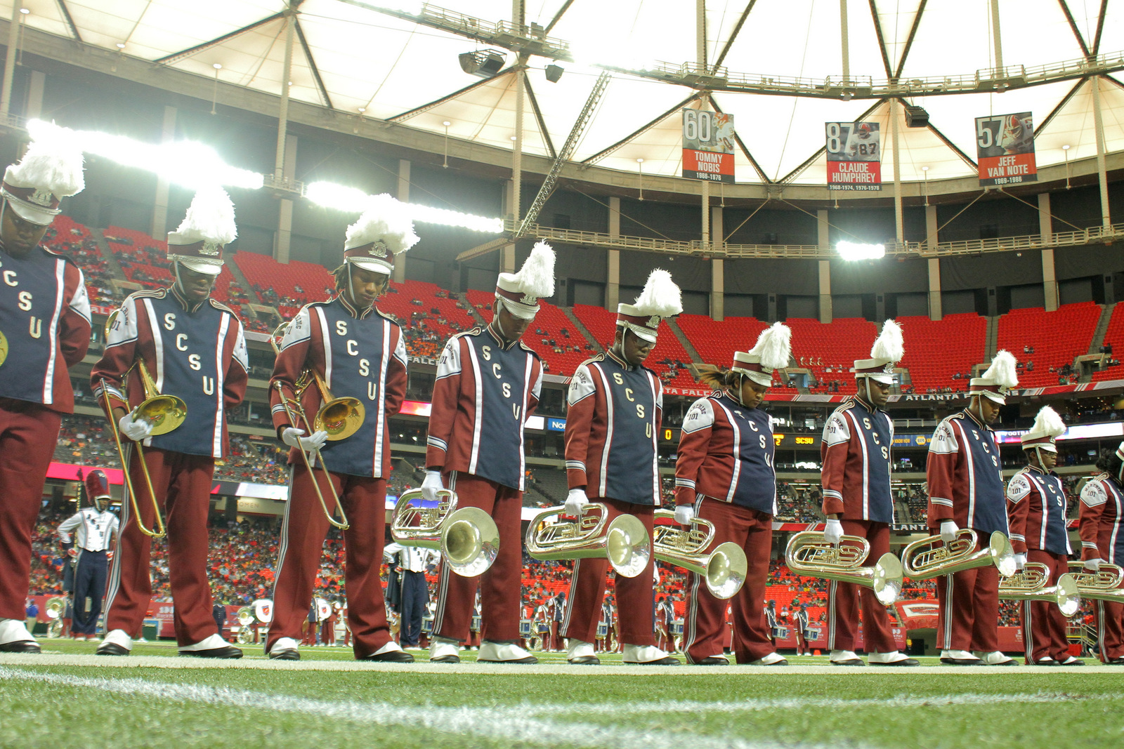 South Carolina State marching 101 get ready to ta...