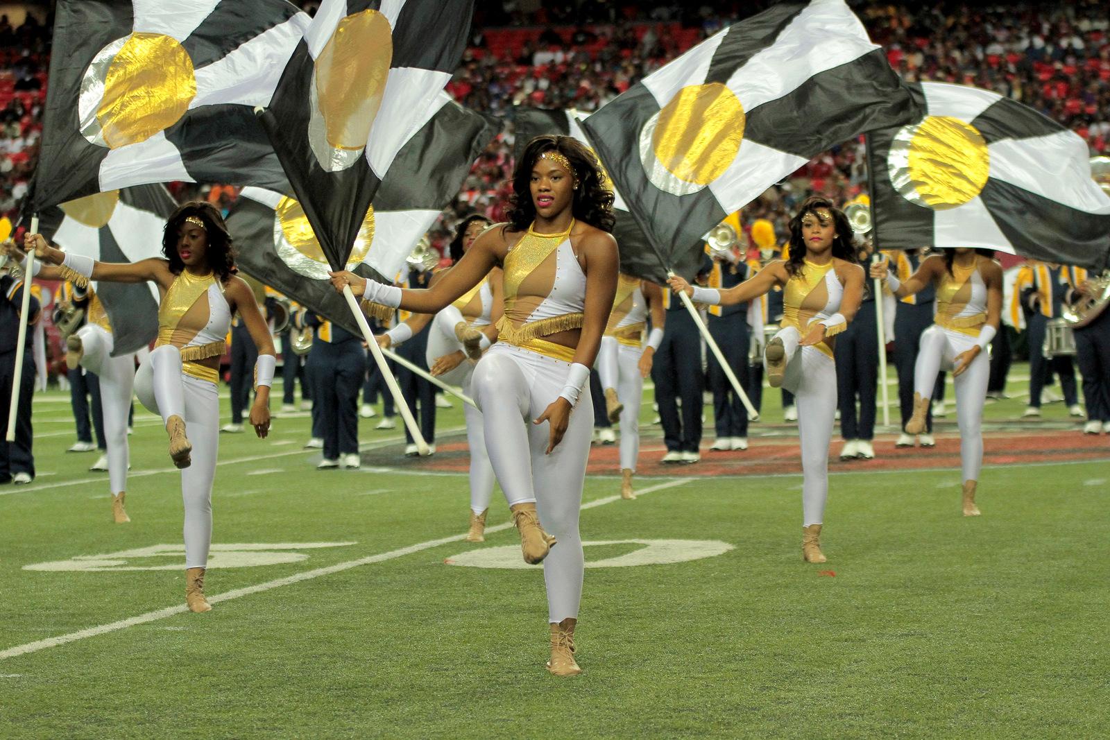 North Carolina A&T Golden delight at the Atlanta ...